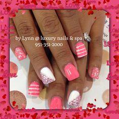 Gel Manicure with design