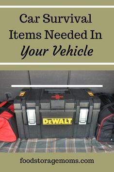 What is in your car survival kit? Are you prepared for the unexpected?