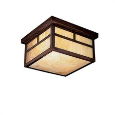 Show details for Kichler Lighting 10957CV Outdoor Flush Mount Alameda
