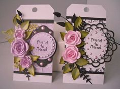 Julie's Inkspot: Friend to Friend Tags
