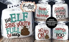 Latest Trend In Embroidery on Paper Ideas. Phenomenal Embroidery on Paper Ideas. Christmas Gift Exchange Games, Family Christmas Gifts, Noel Christmas, Christmas Humor, Xmas Gifts, Christmas Crafts, Christmas Ideas, Christmas Toilet Paper, Toilet Paper Crafts