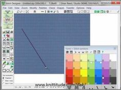 Designaknit 8 Stitch Designer Tutorial - Left Tools