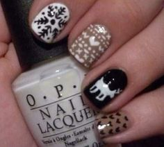Cute Winter Nail Designs For more Images visit http://naildesignsidea.net/winter-nail-designs/