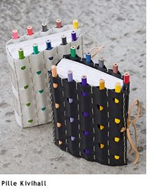 DIY Notebook and Pencil Craft, pencil cover would be cool for a small art journal Kids Crafts, Cute Crafts, Diy And Crafts, Arts And Crafts, Paper Crafts, Notebook Diy, Notebook Covers, Journal Covers, Journal Notebook