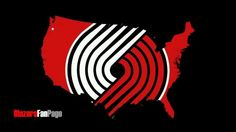 Rip city united! Oregon Trail, Portland Oregon, Basketball Room, Damian Lillard, Portland Trailblazers, Trail Blazers, Shop Logo, Blazer Fashion, Chicago Cubs Logo