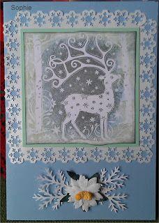 Sophie's Art: Weihnachts-Hirsch