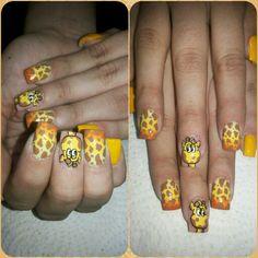 Jirafa nails