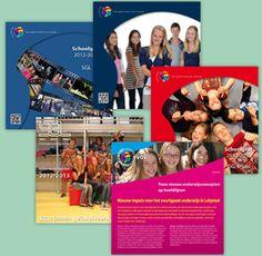 SVOL. Schoolgidsen en brochure.