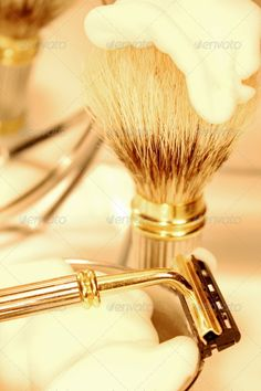 Luxurious Shaving Set Stock Photo by Shaving Set, Hair Accessories, Stock Photos, Luxury, Products, Hair Accessory, Gadget