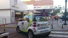 En PadthaiWok no paramos de traer novedades, aquí tenéis otra, nuestro coche de reparto. ¿Qué os parece?