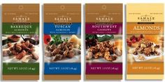 Sahale Snacks Gourmet Nuts (Pack of 24) for $30