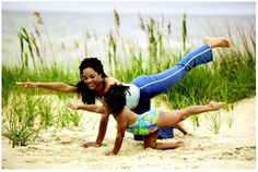 mommy daughter yoga