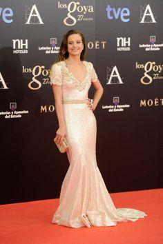 Vestidos de fiesta de los Goya 2013 #vestidos #invitadas #bodas