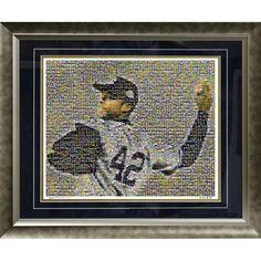 Mariano Rivera Mosaic Framed 20x24 Collage (Ltd of 1000)