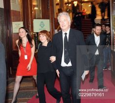 March 19, 2015 -- Alan Rickman & Rima Horton arrive at 22nd Febiofest International Film Festival.