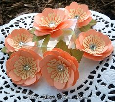 Handmade Paper Flowers  #Wedding #Favors  #Embellishment  #Decorations #Paper #Flowers