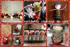 Manualidades navideñas con cápsulas de café