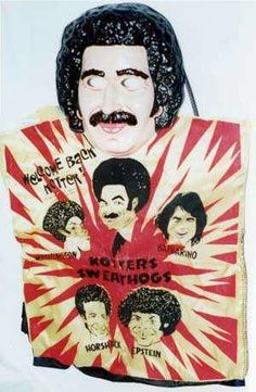 Welcome Back Kotter costume. In the 70's, I am not sure costume designers were trying very hard.