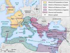 It was in the establishment of the Eastern Roman Empire by Emperor Constantine the Great that Christianity was legalized History of the Byzantine Empire - Wikipedia, the free encyclopedia Roman Empire Map, Constantine The Great, Roman History, Roman Emperor, Mystery Of History, Persecution, Historical Maps, Ancient Rome, Illuminated Manuscript