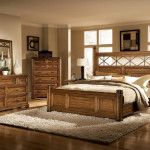 Bedroom Design, Inexpensive King Size Bedroom Sets And Rustic King Size Bedroom Sets For Sale Beautiful White Bed Lamp And Thick Woven Rugs: Cheap King Size Bedroom Sets: Consider The Quality