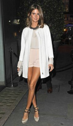 Millie Macintosh | high waisted shorts