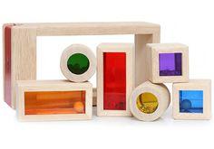 Rainbow Sound Blocks - Wooden Sound Blocks
