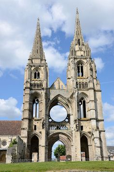 Saint-Jean-des-Vignes Abbey, Soissons, Picardy, France