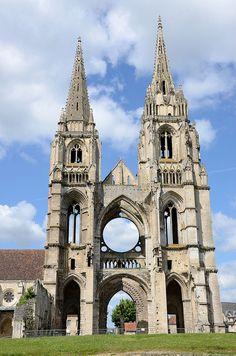 Saint-Jean-des-Vignes Abbey, Soissons, Picardy, France