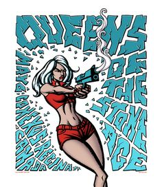 Queens of the stone age - Justin Hampton design