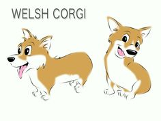 corgi fight cartoon - Google Search
