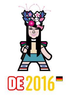 Jamie- Lee Kriewitz - Germany Jamie Lee, Minnie Mouse, Disney Characters, Fictional Characters, Germany, Art, Art Background, Kunst, Deutsch