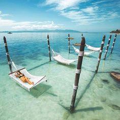 Nap goals - hammock in paradise