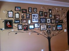 I found this idea on Pinterest, then did it at my new house.  I love how it turned out.