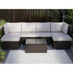 You'll love the Fayette 4 Piece Wicker Seating Group with Cushion at Wayfair - Great Deals on all  products with Free Shipping on most stuff, even the big stuff.