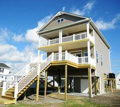 Elegant Custom Two Story Coastal Design By Nationwide Homes. Located Along The  North Carolina Coast.