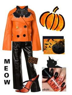"""Halloween party fashion"" by kotnourka on Polyvore featuring Yves Saint Laurent, EUDON CHOI, Manolo Blahnik, Casetify and Masquerade"