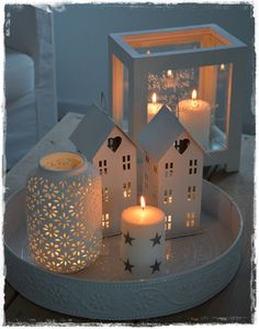 Winter romantic decor