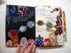 mescrap studio: Artstronauts Journal : by Lay Hoon #art #journal