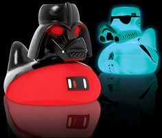 Star Wars Glowing Duck Fader and a Pond Trooper