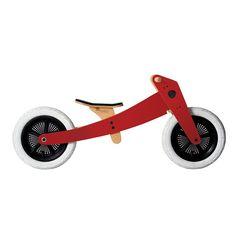 Wishbone Bike Gloss Red 2 in 1