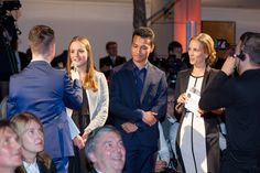 """At this years """"Wuppertaler Wirtschaftspreis"""" (local economy award) our trainee Marie Sanders was up on stage giving a Q&A. Marie talked about her work at #Riedel and explained why she moved to Wuppertal to complete her industrial trainee. Photography: G-Lintl/WMG"""