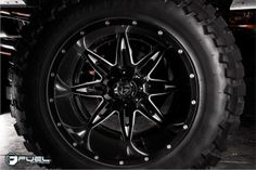 2014 Ford F-350 » BRAND: FUEL TWO PIECE WHEEL: D267 - Lethal WHEEL SIZE: 22