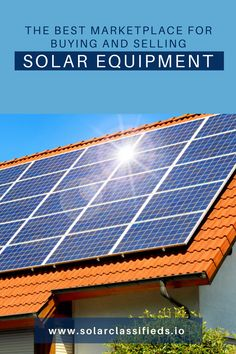 Buying and selling solar equipment can be tough and end up costing you more money than it should. Sellers want to use cost-effective sources to demonstrate how awesome the items are they are offering. Potential owners want to find the local sources for the specific type of equipment they really want. Solar Classifieds brings the best features to buyers and sellers in one site. Solar Energy For Home, Solar Energy Panels, Solar Panels For Home, Solar System Projects, Solar Energy Projects, Backyard Solar Lights, Solar Equipment, Solar House, Solar Power