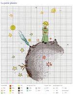 """Gallery.ru / Chispitas - Альбом """"Le Petit Prince a broder au point de croix 2017"""""""