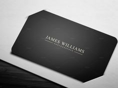 Elegance & Simplicity Business Card by Lucas Alexander on Creative Market