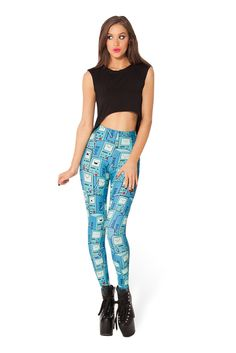 BMO HWMF Leggings by Black Milk Clothing $85AUD