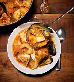 Fisherman used to make this stew based on the day's catch. Yours doesn't have to be so unpredictable.