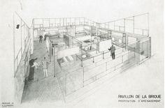 Pavillon de la terre cuite : proposition d'aménagement (décembre 1960)