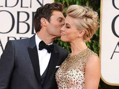 Edgy up-do - Julianne Hough at the 2013 Golden Globe Awards