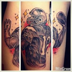 #Brady #patriots #12 @empire_tattoo_boston #tattoo #bostontattoo www.empiretattooinc.com